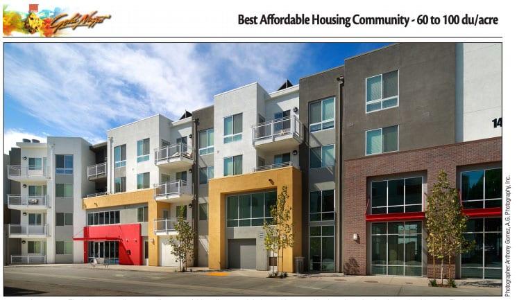 Parisi Portfolio Wins Golden Nugget Award For Best Affordable Housing Community