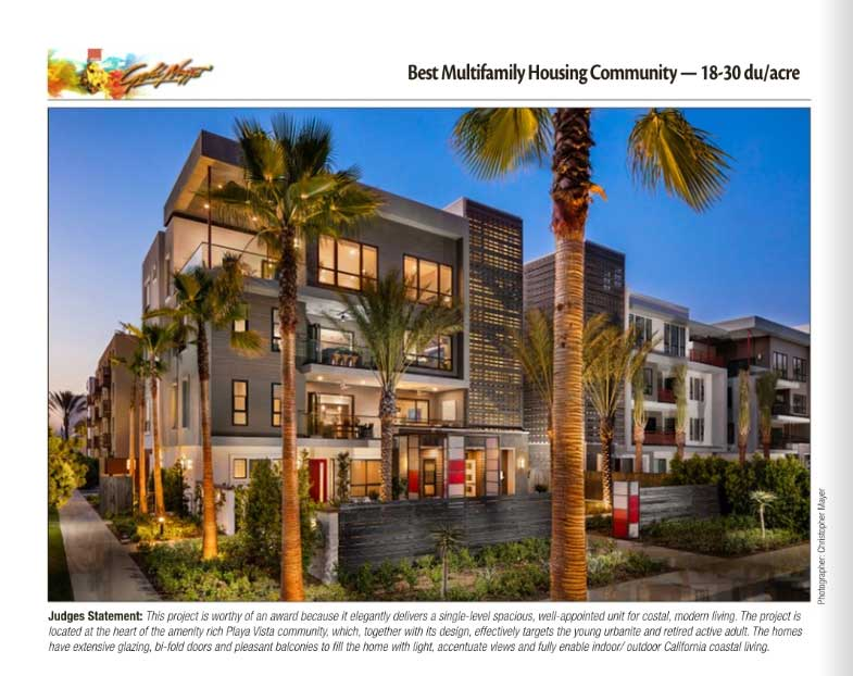 Parisi Portfolio Wins Golden Nugget Award For Best Multifamily Housing Community