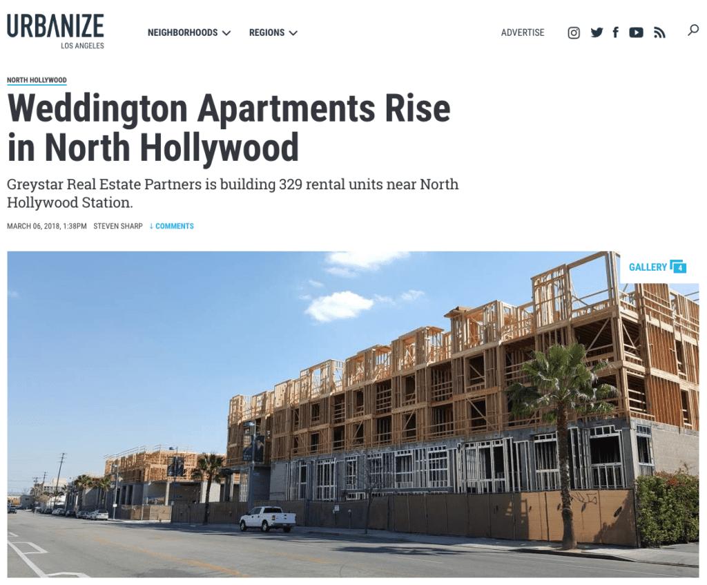 Parisi Selected for Interior Design - Weddington Apartments